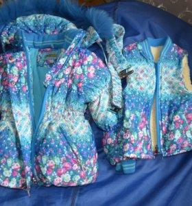 Куртка зимняя с желеткой