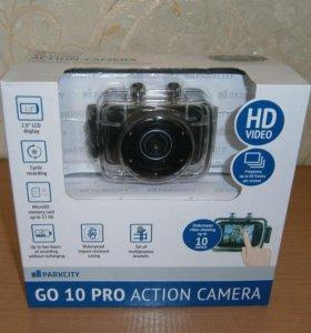 Экшн-камера ParkCity GO 10 PRO новая в упаковке
