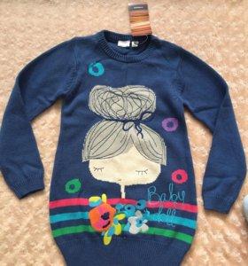 Новый свитер (кофта) для девочки