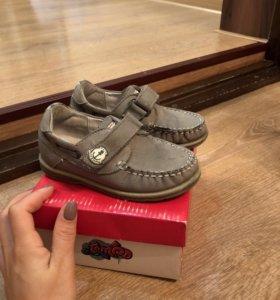 Детская кожаная обувь для мальчика