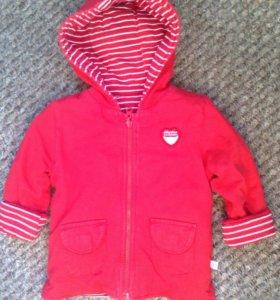 Курточка двухсторонняя для девочки