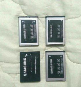 Акамуляторы для телефона-SAMSUNG