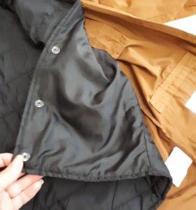 Куртка парка новый 2х жилет и одделни пиджак