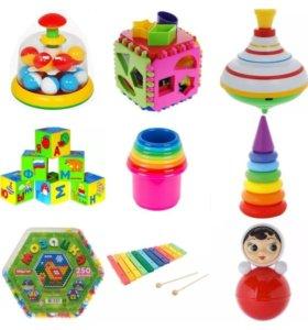 НОВЫЕ развивающие Игрушки для малышей