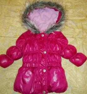 Теплая курточка на малышку
