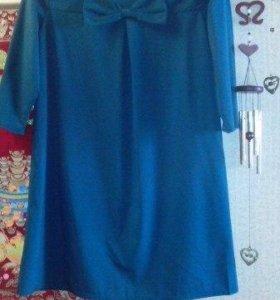 Платье женское с бантом новое