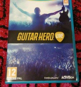 Nintendo Wii U Guitar Hero + гитара