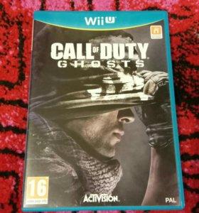Nintendo Wii U Call Of Duty Ghost + Black Ops II