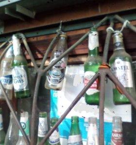 Приём пивной стеклопосуды