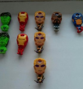 Супергерои из киндера