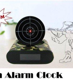 Часы-будильник целься, стреляй