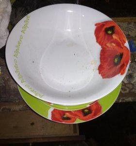 Набор тарелок 19шт
