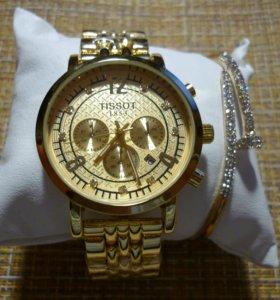 Женские наручные часы Tissot Gold
