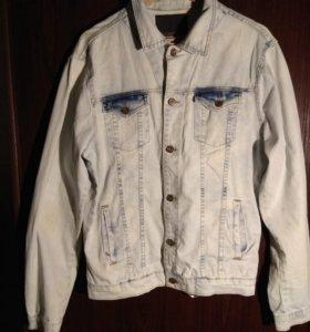 Джинсовая куртка Zara Jeans