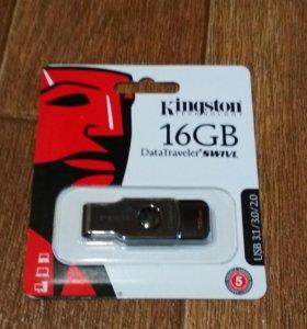 Продам новые флешки Kingston 16 гб