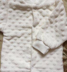 Детская кофта и платье.