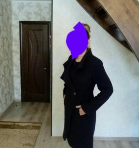 Пальто баклажан 48-50р