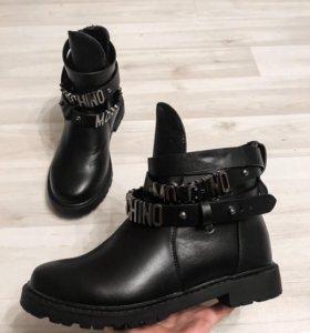Ботинки moschino