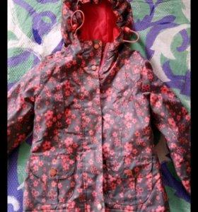 Куртка(флис) и брюки р.104