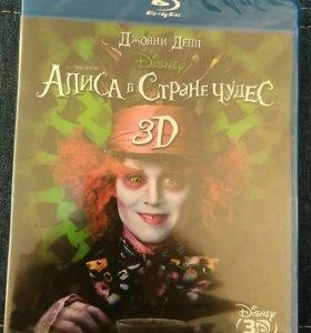 """Blu-ray Disc """"Алиса в Стране чудес"""" 3D"""