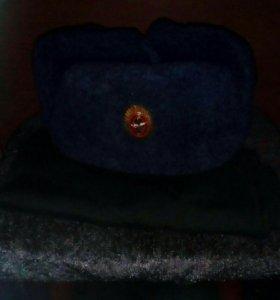 Армейские шарф и шапка