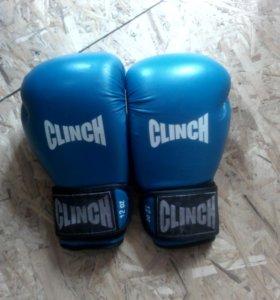 Боксёрские перчатки clinch
