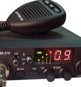Рация,радиостанция Optim 270 Новая!