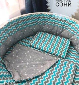 Бортик и постельное белье