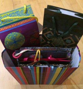 Подарочные пакеты, пакет с пакетами