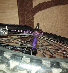 Bmx велосипед для трюков