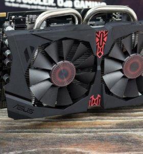 Видеокарта AMD Radeon R7 370 4gb ASUS Strix