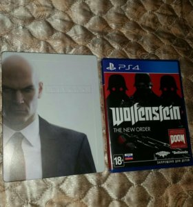 Wolfenstein. The new order.PS4 & HITMAN PS4