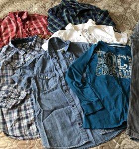 Рубашки 140-158