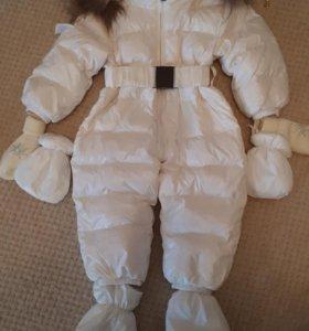 Зимний комбинезон на девочку 1 год