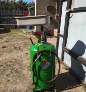 Оборудование для замены масла в двигателе авто