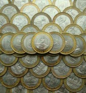 Монеты юбилейные биметаллические