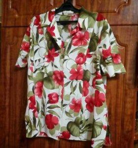 Рубашка женская, 56 размер