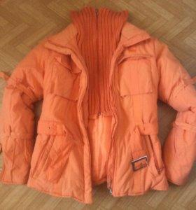 Куртка теплая рост 160. р. 44-46