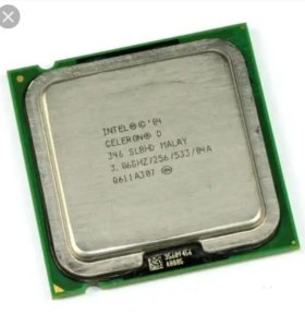 Процессор celeron d346
