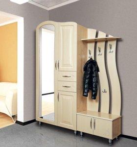 шкаф + отдельный модуль с полкой и тумбой