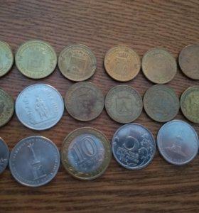 Продам монеты 2012 года.