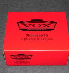 Новый гитарный процессор VOX STOMPLAB 1G