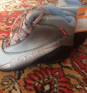 Лыжные ботинки р-р 44