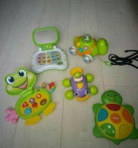 Музыкальные игрушки от 6 мес.