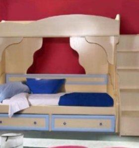 Кровать 2х-ярусная
