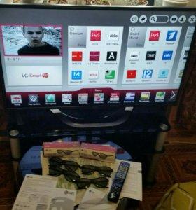 LG 42 3D Smart TV Wi-Fi Full HD