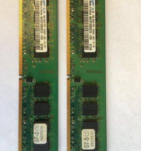 DDR2 SAMSUNG 1GB 667MHz x2