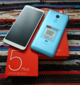 Xiaomi Redmi 5 plus 3-32Гб синий, гарантия