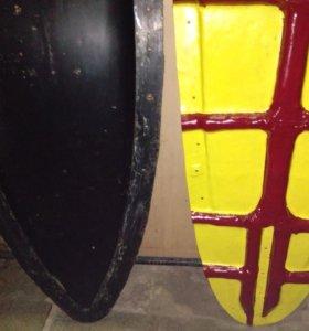 Матрица для производства досок для серфинга