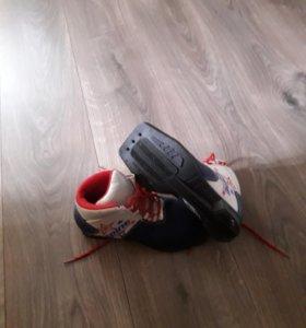 Ботинки лыжные (31р-р)75